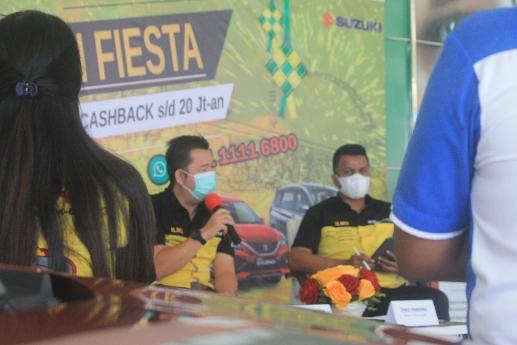 Hari Ketiga Suzuki Fiesta, SBM NTT Gapai 27 Surat Pesanan Kendaraan