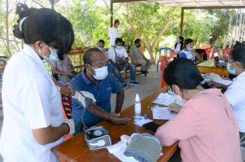 Eksekusi Instruksi Bupati Belu, Dinas Kominfo Fasilitasi Vaksin Wartawan