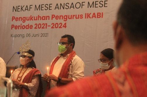 'Nekaf Mese Ansaof Mese' Satu Hati Satu Jiwa Pengurus IKABI 2021—2024