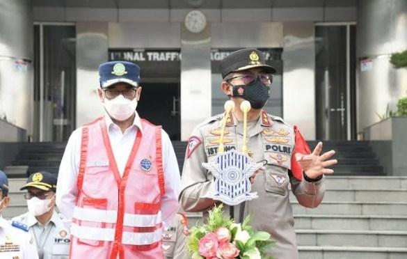 PPKM Darurat di Jawa dan Bali, Korlantas Polri Bangun 407 Titik Penyekatan