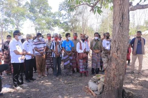 Lindungi Lokasi 'Food Estate' Belu, Pemda Helat Ritual 'Ukun Badu'