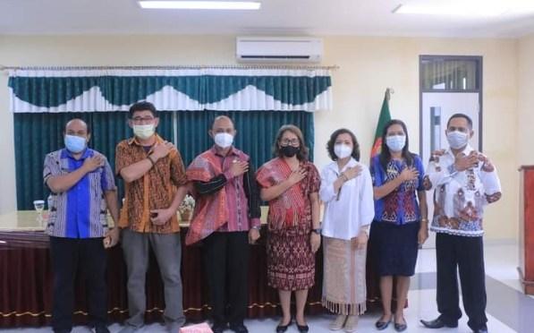 DPRD TTU Komisi III Studi Banding Layanan BLUD RSUD Atambua