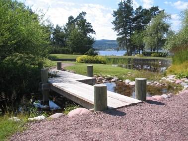 Brücke für Teich