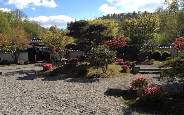 japanischer garten in bielefeld im fr hling garden blog. Black Bedroom Furniture Sets. Home Design Ideas