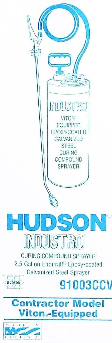 10 l. Prof. Hudson metalinis purkštuvas —  hudson industro profesionalus purkstuvas