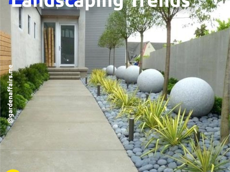 5 Landscaping Trends in 2020 | 2: Transitional and Contemporary Gardens