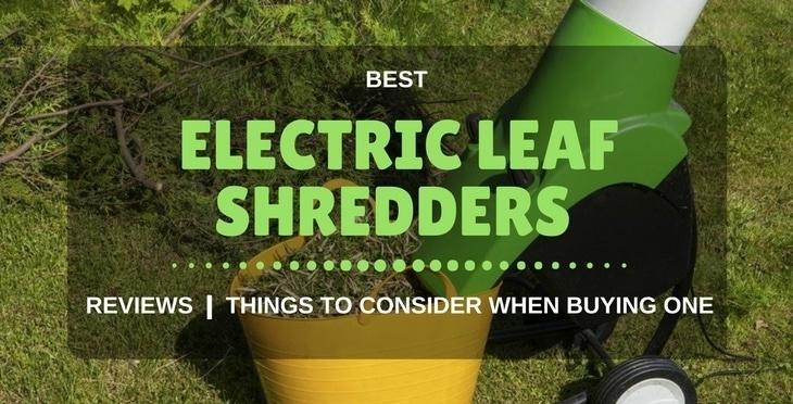 Best Garden Shredder Mulcher