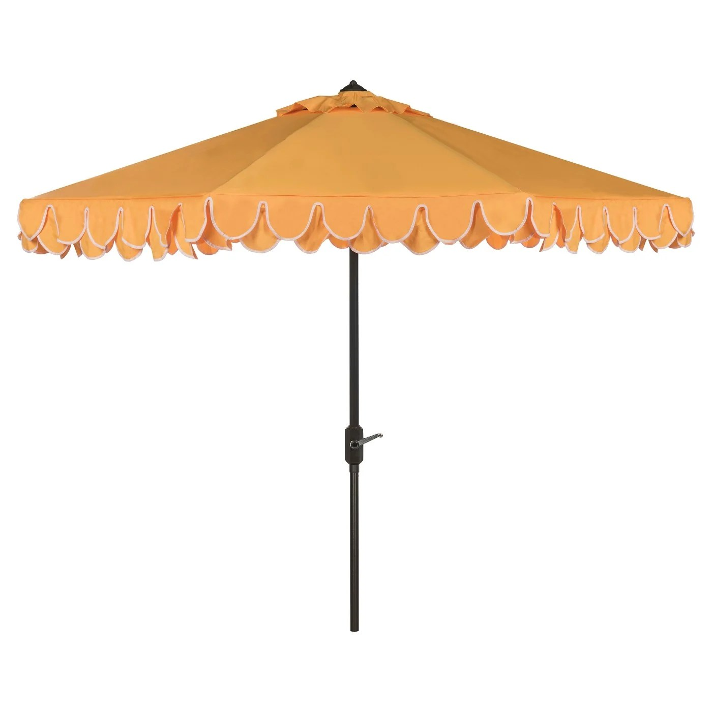 nine throwback umbrellas for the pool