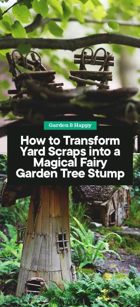 How To Transform Yard Scraps Into A Magical Fairy Garden