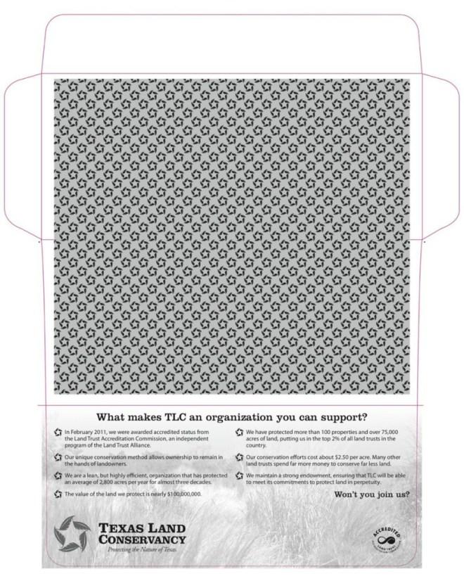 #9 bangtail envelope design