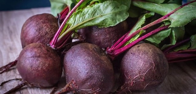 Purple Red Beetroots