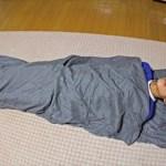 LOGOS 寝袋 シルキーインナーシュラフ はちょっと寒いときに