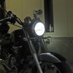GV250弄り ヘッドライトLEDとUSB電源