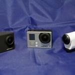 アクションカメラ3台を比較してみた  GoPpo 対 SONY 対 APEMAN