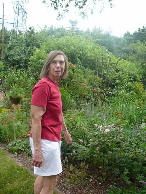 Our hostess, Liz Davey