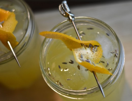 meyer lemon lavender cocktail