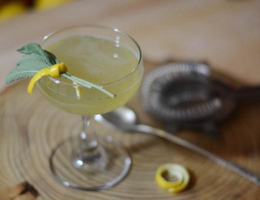Persimmon Saisonnière cocktail