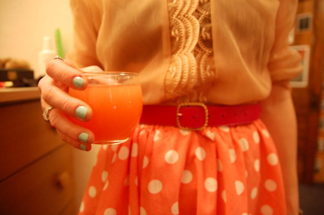 pink on pink cocktails