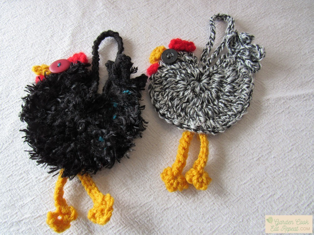 Chicken Christmas Ornaments