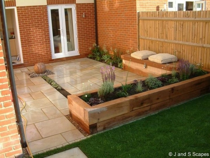 17 Best Ideas About Small Patio Gardens On Pinterest | Flat intended for Garden Patio Ideas For Small Gardens
