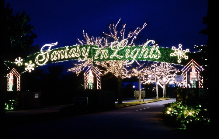 Callaway Garden's Fantasy In Lights Tickets B1G1 :: Southern Savers intended for Garden Light Festival Bear Creek Park