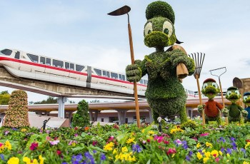 Epcot International Flower & Garden Festival Diy: Flower And throughout Flower And Garden Festival In Epcot
