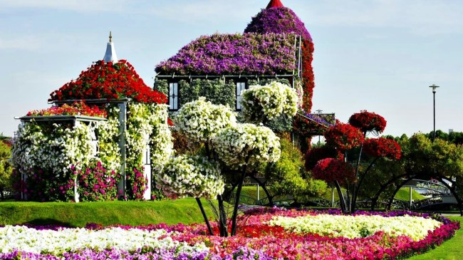Flower House In Dubai Miracle Garden Park | Series 'unique Living pertaining to Dubai Miracle Flower Garden Location Map