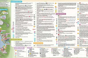 Guide-Map Now Available For The 2015 Epcot International Flower And with Epcot Flower Garden Festival Map