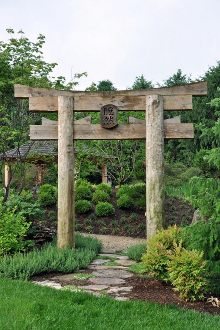 Decorative Japanese Garden Gate Ideas | Zen Garden | Japanese Garden inside Zen Garden Gate Design
