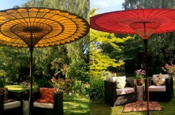 Luxury Garden Umbrellas | Garden Parasols | Patio Sun Umbrellas intended for Oriental Garden Parasol Uk
