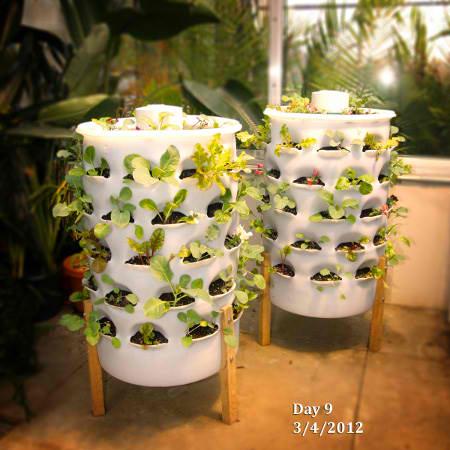 Garden Tower: Urban Gardening Indoors & Outdoors