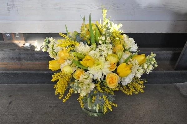 DIY Yellow Flower Arrangements Gallery Garden Design
