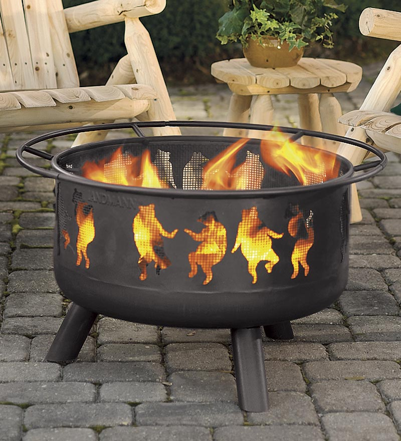 How Set Wood Fire Pit