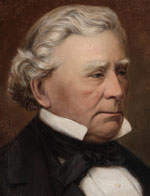 William Charles Wentworth, 1872 by James Anderson, oil painting on canvas