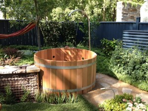 The all-important hot-tub