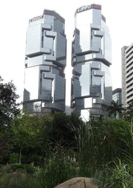 'Koala' building from Hong Kong Park