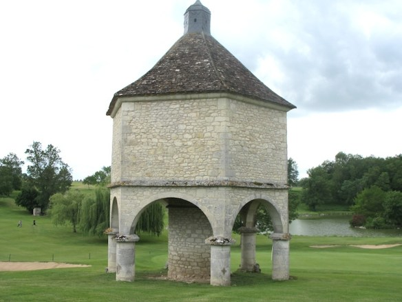 Pigeonnier on the local golf course