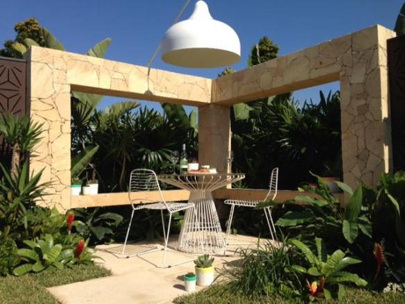 Main sitting area in the garden. Design Phillip Withers