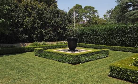 The front garden -Design Paul Bangay Killara garden, Sydney