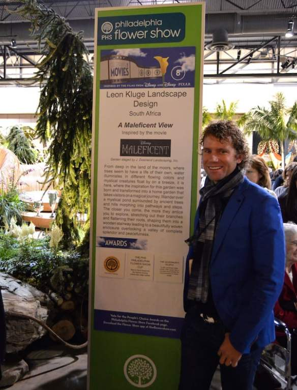 Leon Kluge show garden A Maleficent View at Philadelphia Flower Show 2015