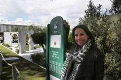 Kamelia bin Zaal at the Chelsea Flower Show 2015