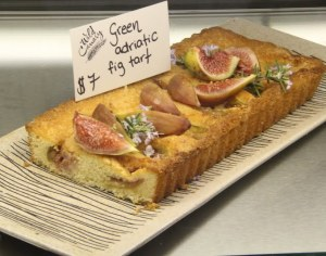 The Fig Tart looks delectable