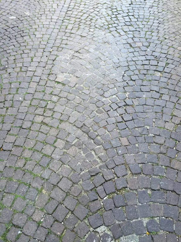 Paving on a street at Sutri