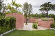 SABO: The Circle of Life. Designed by: Stefano Passerotti. Sponsored by: Sabo Oil, Gruppo Dei, Ecotec, Vivai Vannuccii. RHS Hampton Court Palace Flower Show 2015.