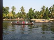 River roads, getting from A to B. Kerala backwaters.
