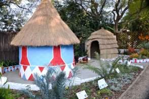 'African Medicinal Garden'. Designed by Katlego Selemela & Solomon Nenungwi, nstallation by Walter Sisulu National Botanical Garden (SANBI)