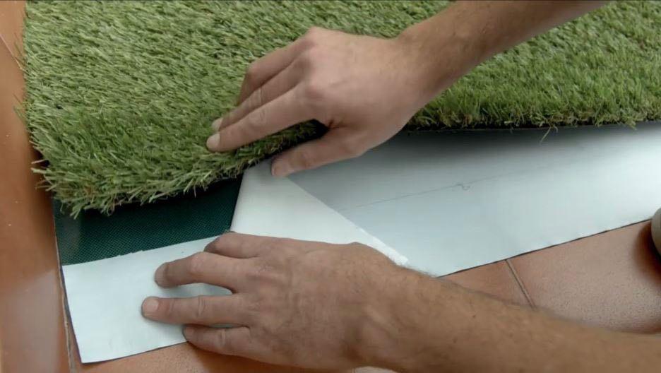 Accesorios cesped artificial banda adhesiva