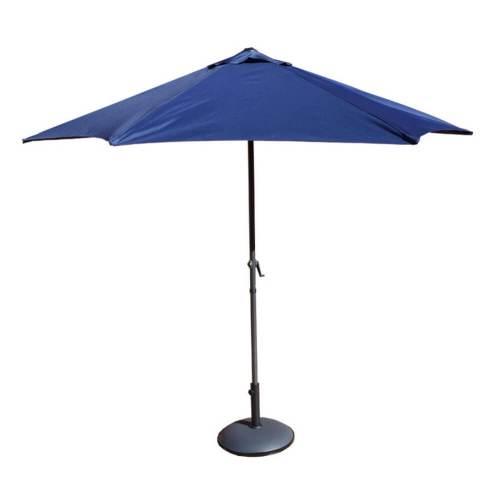 sombrilla-jardín-azul