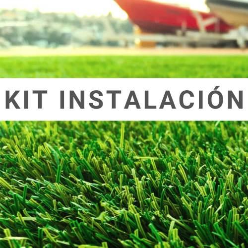 kit-instalación-césped artificial