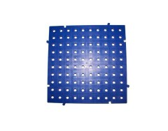 placa pvc de color azul 50x50x2.5 centimetros